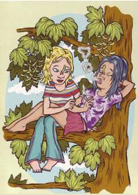 Herbst: Postkarte von Calle Claus